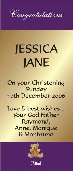 CHRISTENING LABEL 05 1