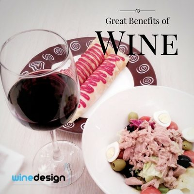 Great Benefits of Wine