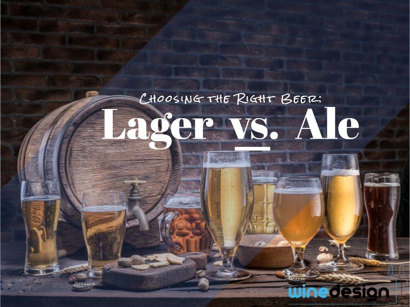 Choosing the Right Beer: Lager versus Ale 1