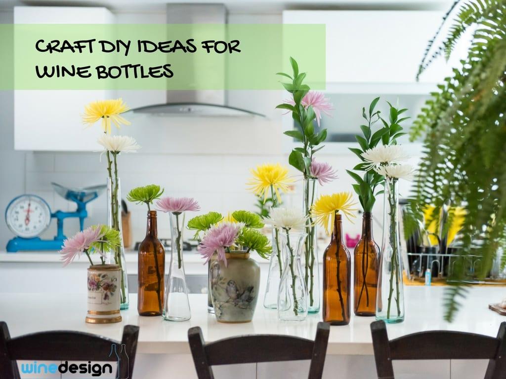 7 Repurposed Wine Bottle DIY Ideas -