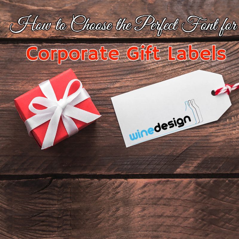 corporate gift labels