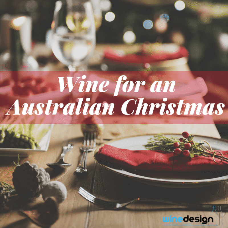 personalised Wine for an Australian Christmas