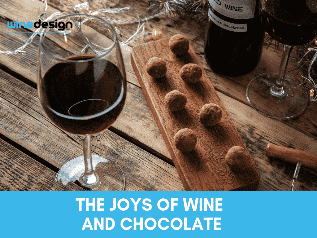 The Joys of Wine and Chocolate 1