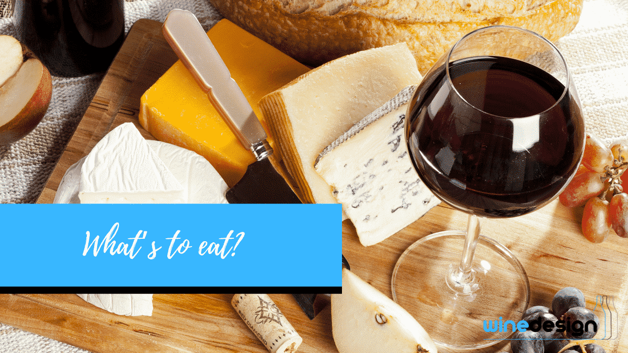 Menu for Cheese and Wine Party -