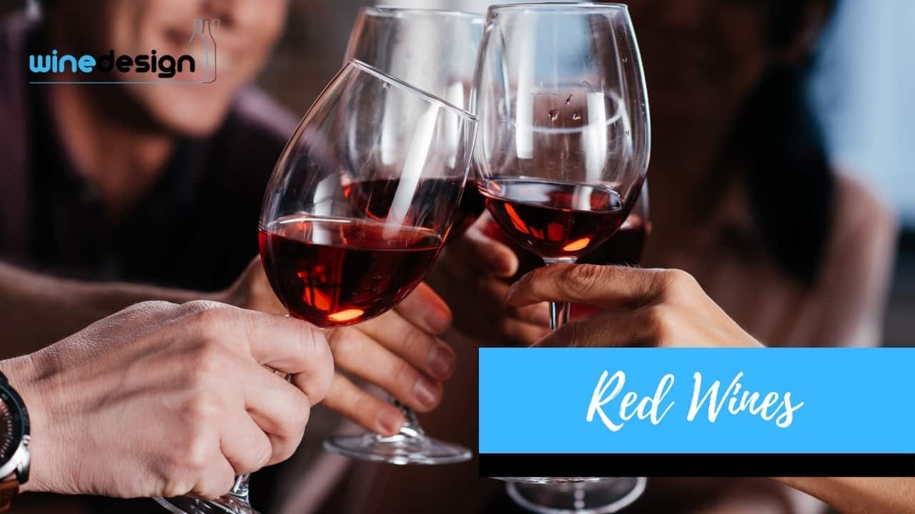 Red Wines - Wedding gifts