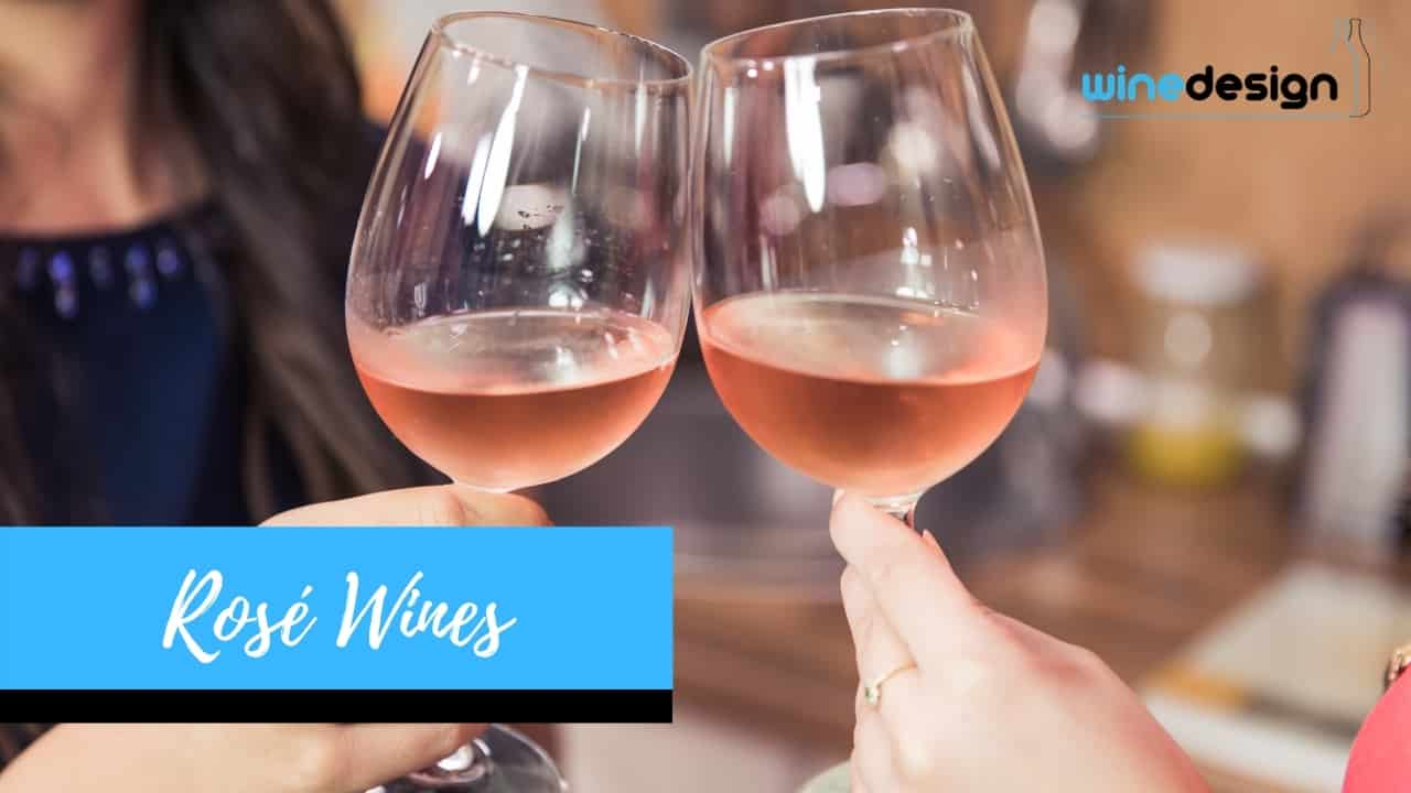 Rosé Wines - Wedding gifts