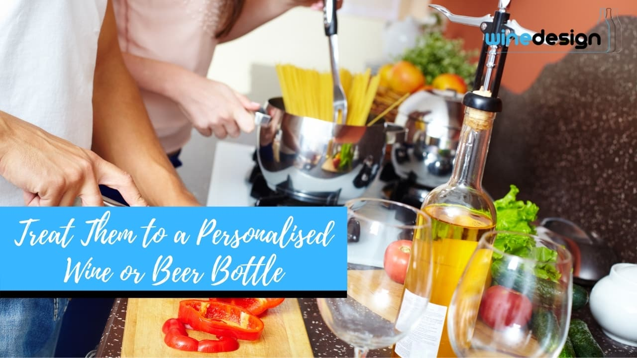 Treat Them to a Personalised Wine or Beer Bottle